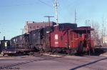 N&W Caboose Hop to Calumet Yard